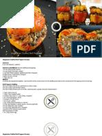 Vegetarian Stuffed Bell Peppers Recipe.