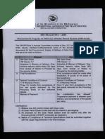 Bid Bulletin 1-2016 Solar Power System (Off-Grid)