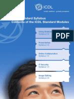 Syllabus ECDL Standard e Web