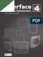Inteface 4 Teachers Book
