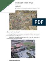 Información sobre Ávila