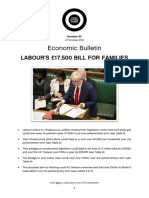 Labour's 17500 Bill for Families