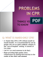 Problems in Cpr 2