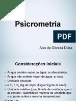 Psicrometria - Aula