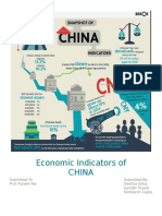 Economic Indicators of china