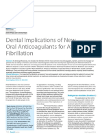 Dental Implications of New