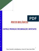 Riscos Biológicos Nicolau Belo