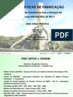 Boas Práticas de Fabricação _Artur J Gradim_Goiás_2014