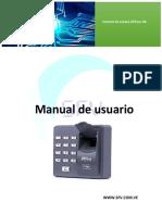 Manual de Usuario X6-Port