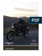 Thruxton (MY16) Brochure