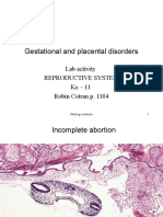 Gestational and Placental Disorders