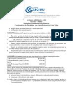 Gabarito+AD2+fundamentos+de+finanças+2012+2