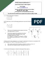 Cive1620 Problem Sheet 4 2008 Solutions
