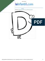 Imprimir Letra D