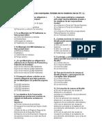 TEST 19 El Municipio Competencias