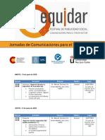 Cronograma Jornadas de Comunicaciones Para El Tercer Sector (Invitados)
