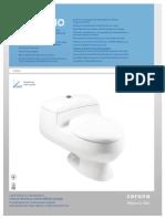 Sanitario Prestigio Alongado Blanco Ficha Tecnica 306361001 1