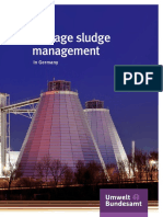 Sewage Sludge Management in Germany