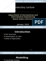 Unmanned Aerial Vehicle_lecture1