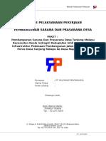 Metode Pelaksanaan_Pembangunan Sarana & Prasarana Desa Tanjung Melayu