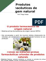 Produtos Farmacêuticos de Origem Natural