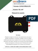Manual de Instrução TK-107 - Português