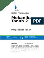 Modul Mekanika Tanah II [TM1]
