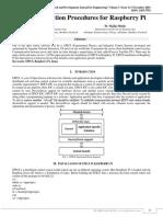 EPICS Installation Procedures for Raspberry Pi