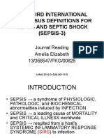 The Third International Consensus Definitions for Sepsis and Septic Shock