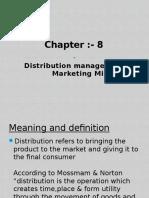 Chap 8 Distribution Management