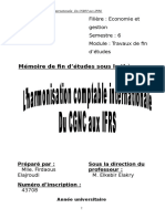 La transition du CGNC aux IFRS