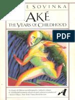 Soyinka, Wole - Aké (Vintage, 1983)