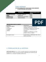 Matriz de Doble Entrada - Formulacion de Hipotesis- Conceptualizacion h - Resolucion de Preguntas y Link Padlet