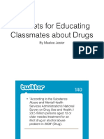 tweets for educating about drugs