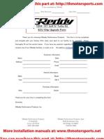 Greddy Vw Golf Turbo Kit Installation Manual