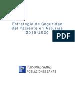 Estrategia de Seguridad Del Paciente 2015-2020
