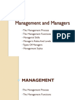 Management 2.1. Management Functions