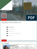 DB12c Upgrade Webinar