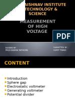 Measurement of High Voltage