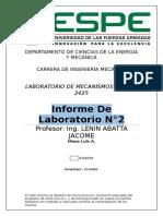 Introduccion a Artasam Working Model Luis 2425 Lunes 14h