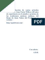 Joan Parisi Wilcox - Articulos