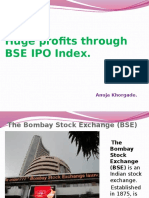 S&P BSE IPO Index
