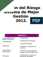 Gestion Del Riesgo 2012 1