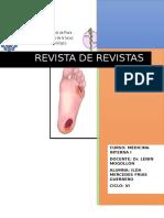 El Pie de Riesgo de Acuerdo Con Su Estratificación en Pacientes Con Diabetes Mellitus Referencias