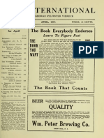 The International, April 1917