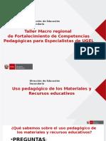 Ppt Uso Materiales Recursos Matematica