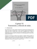 CAPITULO VI Transmisión y Reflexión de Ondas