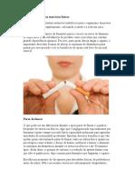 Parar de Fumar e Os Exercícios Físicos