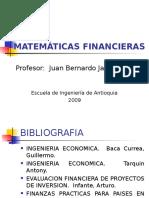 matematicas financieras,VAN, TIR
