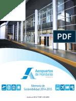 Memoria de Sostenibilidad de Aeropuertos de Honduras 2014-2015